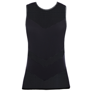 Freya-Active-Flaunt-Nero-Black-Mesh-Exercise-Vest-Top-AC4020NER