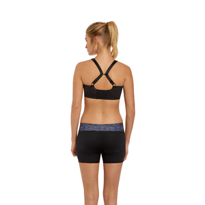 Freya-Active-Sonic-Nebula-Black-Underwired-Sports-Bra-AC4892NEA-Speed-Exercise-Short-AC4009NEA-Back