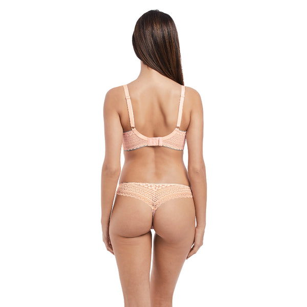 Freya-Lingerie-Daisy-Lace-Blush-Pink-Half-Cup-Bra-AA5133BLH-Thong-AA5137BLH-Back
