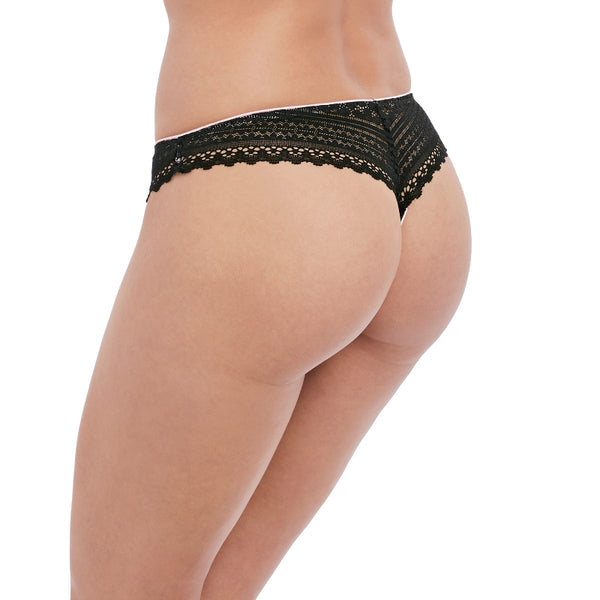 Freya-Lingerie-Daisy-Lace-Noir-Black-Thong-AA5137NOR-Back