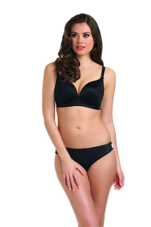 Freya-Lingerie-Deco-Moulded-Soft-Cup-Bra-Black-4231-Brief-4235