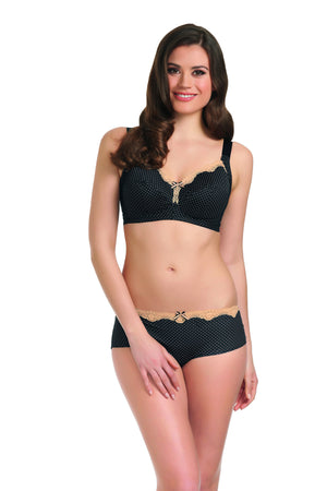 Freya-Lingerie-Dotty-Soft-Cup-Black-Bra-2035-Short-2044