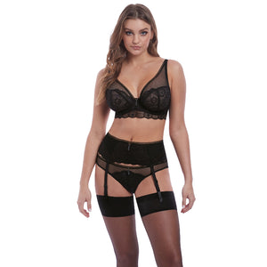 Freya-Lingerie-Expression-Black-High-Apex-Bra-AA5494BLK-Brazilian-Brief-AA5497BLK-Suspender-AA5499BLK-Front