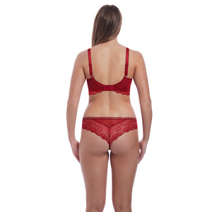 Freya-Lingerie-Expression-Ruby-Red-High-Apex-Bra-AA5494RUY-Brazilian-Brief-AA5497RUY-Back