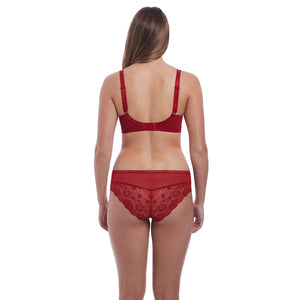 Freya-Lingerie-Expression-Ruby-Red-Plunge-Bra-AA5491RUY-Brief-AA5495RUY-Back