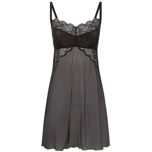 Freya-Lingerie-Fancies-Black-Chemise-AA1018BLK
