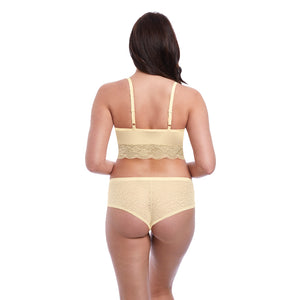 Freya-Lingerie-Fancies-Buttermilk-Yellow-Bralette-AA1010BUK-Hipster-Short-AA1015BUK-Back