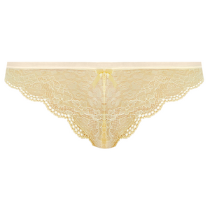 Freya-Lingerie-Fancies-Buttermilk-Yellow-Brazillian-Brief-AA1017BUK-Front