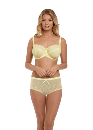 Freya-Lingerie-Fancies-Sherbet-Yellow-Balcony-Bra-AA1012SHT-Short-AA1015SHT-Front