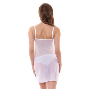 Freya-Lingerie-Fancies-White-Chemise-AA1018WHE-Back