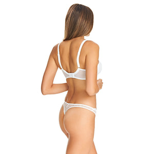Freya-Lingerie-Fancies-White-Half-Cup-Bra-AA1013WHE-Thong-AA1008WHE-Back