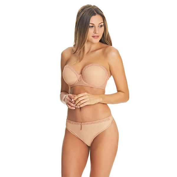Freya-Lingerie-Idol-Allure-Cafe-Au-Lait-Nude-Strapless-Bra-Straps-AA1803CAT-Deep-Thong-AA1807CAT-Front