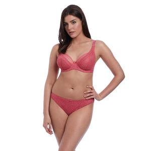Freya-Lingerie-Love-Note-Rose-Pink-High-Apex-Bra-AA5211ROE-Brief-AA5215ROE-Front