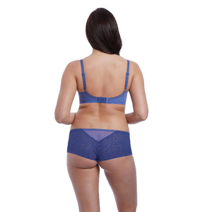 Freya-Lingerie-Soiree-Lace-Denim-Blue-Plunge-Bra-AA5013DEN-Short-AA5016DEN-Back