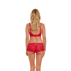 Freya-Lingerie-Soiree-Lace-Rouge-Red-Plunge-Bra-AA5013ROG-Short-AA5016ROG-Back
