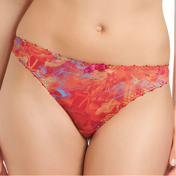 Freya-Lingerie-Tropics-Paradise-Thong-Red-1657-Front
