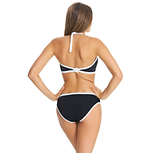 Freya-Swim-Back-To-Black-High-Neck-Crop-Bikini-Top-AS3701BLK-Brief-AS3706BLK-Back