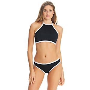 Freya-Swim-Back-To-Black-High-Neck-Crop-Bikini-Top-AS3701BLK-Brief-AS3706BLK-Front
