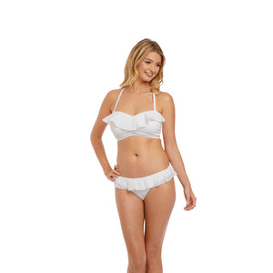 Freya-Swim-Bohemia-White-Bandeau-Bikini-Top-Racerback-AS2971WHE-Italini-Brief-AS2975WHE-Front