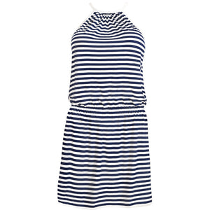 Freya-Swim-Coastline-Blue-White-Stripe-Beach-Dress-AS3488STE