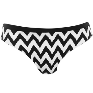 Freya-Swim-Making-Waves-Black-White-Bikini-Brief-AS2950BLK-Front