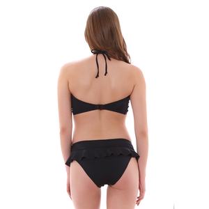 Freya-Swim-Remix-Black-Bandeau-Bikini-Top-AS3944BLK-Latino-Brief-AS3951BLK-Back