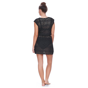 Freya-Swim-Sundance-Black-Beach-Cover-Up-Dress-AS3978BLK-Back