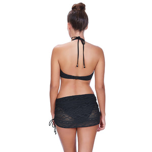 Freya-Swim-Sundance-Black-Halter-Bikini-Top-AS3971BLK-Skirted-Brief-AS3977BLK-Back