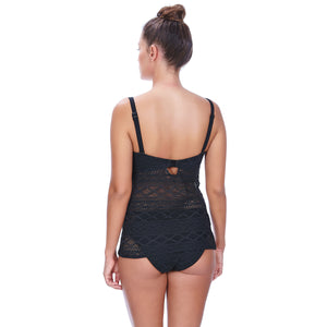 Freya-Swim-Sundance-Black-Tankini-Top-AS3972BLK-Hipster-Brief-AS3976BLK-Back