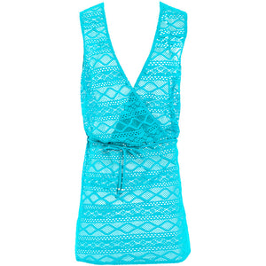 Freya-Swim-Sundance-Deep-Ocean-Blue-Beach-Cover-Up-Dress-AS3978DON