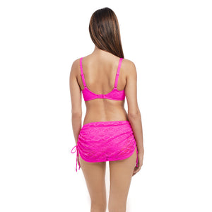 Freya-Swim-Sundance-Hot-Pink-Sweetheart-Bikini-Top-AS3970HOK-Skirted-Brief-AS3977HOK-Back