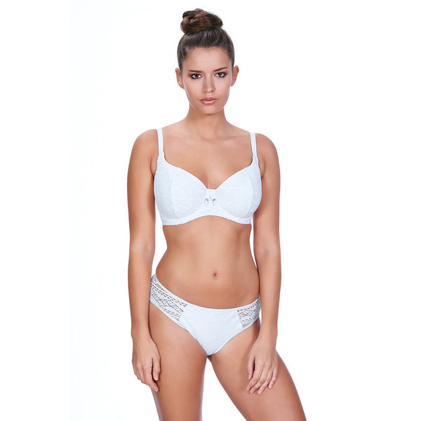 Freya-Swim-Sundance-White-Sweetheart-Bikini-Top-AS3970WHE-Hipster-Brief-AS3976WHE-Front
