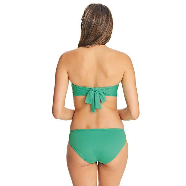 Deco Swim Ocean Green Multiway Bandeau Bikini Top - Freya Swim
