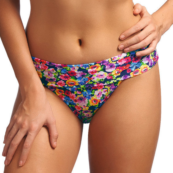 Freya-Swimwear-Summer-Indigo-Floral-Classic-Fold-Bikini-Brief-AS3717INO