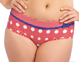 Hello Sailor Red Bikini Short - Freya Swim