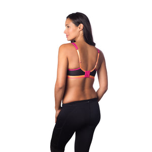 Hotmill-Lingerie-Activate-Black-Maternity-Nursing-Sport-Exercise-Bra-Back