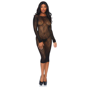 Leg-Avenue-Black-Body-Con-Dress-86800-Front