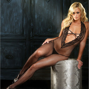 Leg-Avenue-Black-Deep-V-Rhinestone-Bodystocking-89041