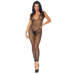 Leg-Avenue-Black-Low-Back-Footless-Bodystocking-89035-Front