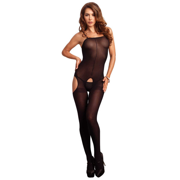 Leg-Avenue-Black-Opaque-Crotchless-Bodystocking-8195