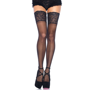 Leg-Avenue-Black-Silicone-Top-Stay-Up-Thigh-Highs-9750
