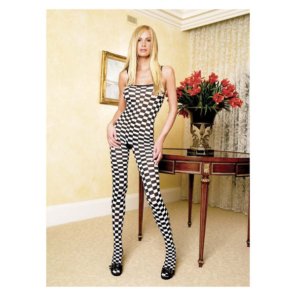 Leg-Avenue-Black-White-Checkerboard-Bodystocking-8715