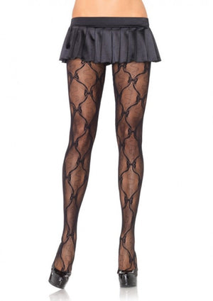 Leg-Avenue-Bow-Lace-Pantyhose-Black-9930