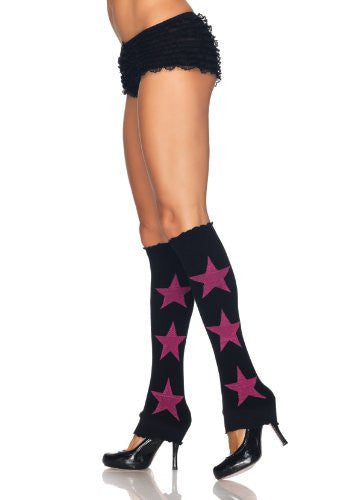 Leg-Avenue-Star-Leg-Warmers-Black-Pink-3920