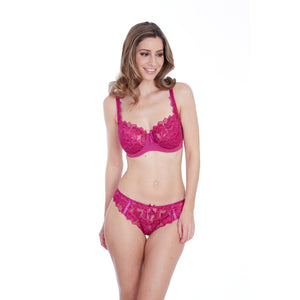 Lepel-Lingerie-Fiore-Magenta-Full-Cup-Bra-93229MAG-Thong-93212MAG