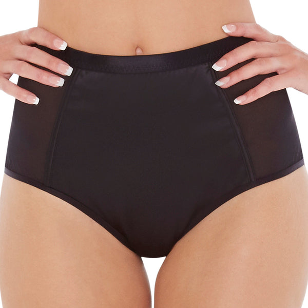Lepel-London-Claudia-Black-High-Waist-Brief-160310BLK