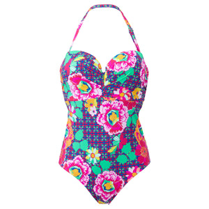 Lepel-Swimwear-Sun-Kiss-Floral-Print-Bandeau-One-Piece-Swimsuit-LE157180PIM-Zoom