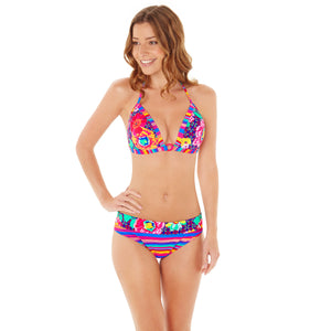 a4defa483c Lepel Swim Sun Kiss Stripe Print Fold Bikini Brief Pant ...
