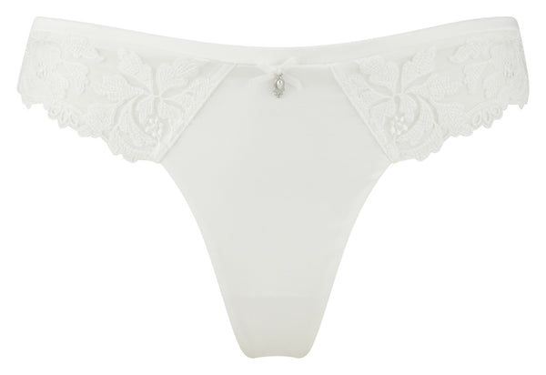 Masquerade-Lingerie-Serenity-Bridal-Thong-Ivory-7539-Front
