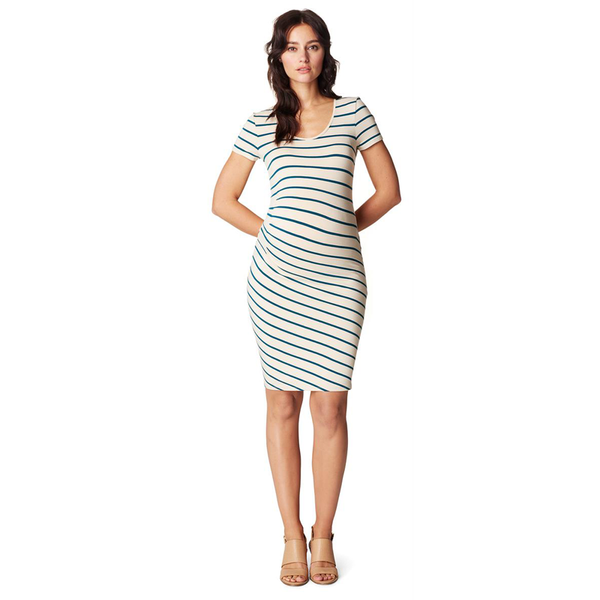 Noppies-Lotus-Striped-Maternity-Dress-Front-Lifestyle-70219C013